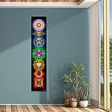 Chakras Wall Hanging   Art   Tapestry   Wall Hanging   Mindfulness Gift   Meditation   Yoga   Spiritual   Healing