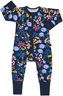 Bonds Zippy Wondersuit - Wildflowers Deep Atlantic