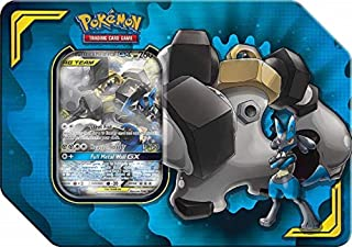 Pokémon POK80540 TCG: Power Association Tag Team lata (uno al azar), varios colores , color/modelo surtido