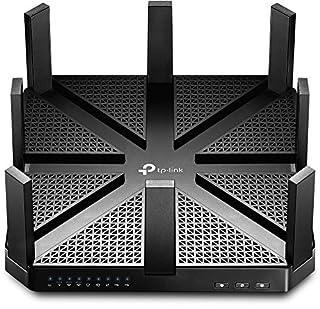 TP-Link Routeur 5400Mbps Wi-Fi Gigabit Tri-Bande: 1000 Mbps en 2.4 GHz, 2x 2167 Mbps en 5 GHz, 5 ports Ethernet Gigabit, 1 port USB 3.0 + 1 port USB 2.0 (Archer C5400) (B01LRWULXK) | Amazon price tracker / tracking, Amazon price history charts, Amazon price watches, Amazon price drop alerts