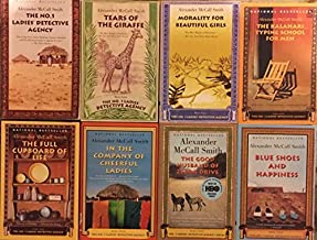 Number One Ladies Detective Agency Series Set 1-8 by Alexander McCall Smith