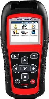 Leepesx Sistema de monitoreo de presi/ón de neum/áticos para navegaci/ón Android con 4 sensores externos Pantalla en tiempo real 4 Presi/ón y temperatura de los neum/áticos