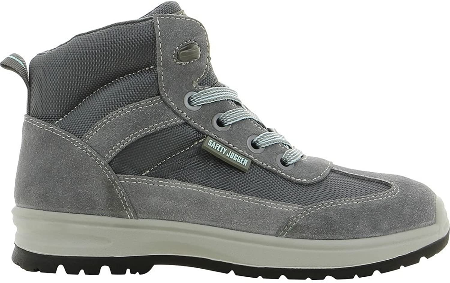 Safety Jogger 200161-37 shoes, Organic  S1P, Size 4, grey