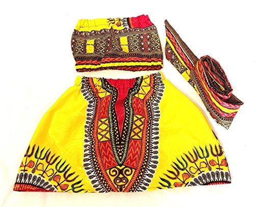 African skirt/African babygirl clothes/baby set/ headwrap/Newborn clothes/African clothing/Ankara skirt/Kente Fabric/Girl skirt/dashiki set/african clothing