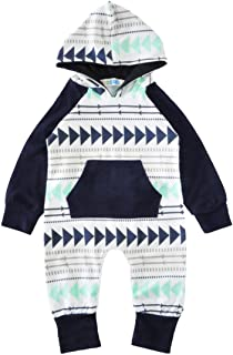 babyHealthy Baby Girls Boys Spring Autumn Long Sleeve Romper Outfits Suit