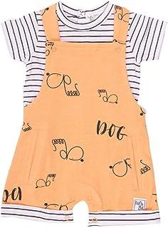 BABY-BOL - Conjunto Camiseta y Peto bebé-niños