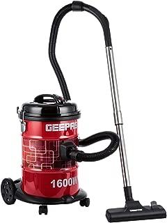 Geepas Drum Vacuum Cleaner, Black/Red
