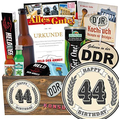 Geschenk zum 44. / Männer Set / 44 iger Geburtstag Geschenke