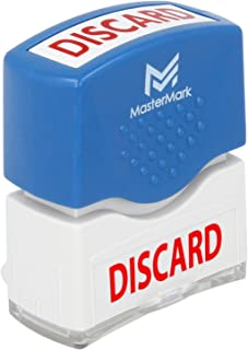 Discard Stamp – MasterMark Premium Pre-Inked Office Stamp
