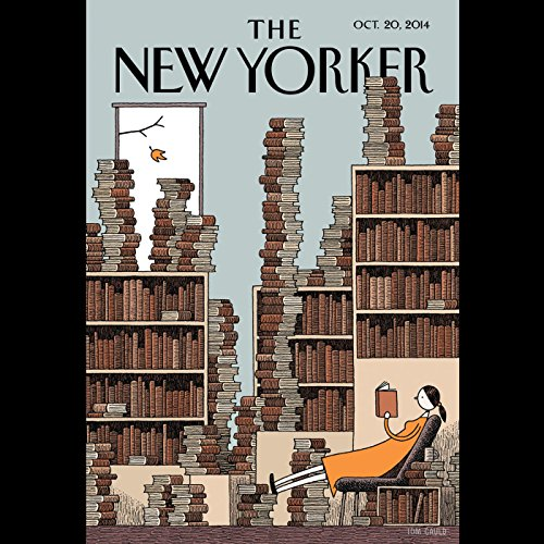 The New Yorker, October 20th 2014 (Patricia Marx, George Packer, Dan Chiasson) audiobook cover art