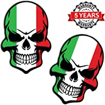 Tuning B 130, vinyl Italiaanse vlag, schedel, dood...