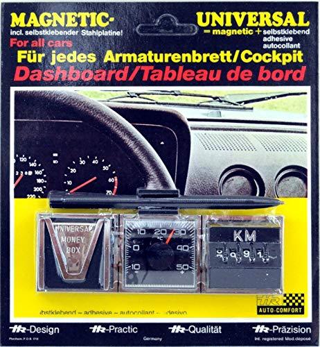 HR-Autocomfort 1974 PKW Kombi Instrument Thermometer Kilometerzähler Münzbox KM Zähler