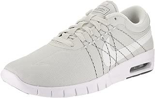 Nike Men's SB Koston Max White Textile Skate Shoe 11.5