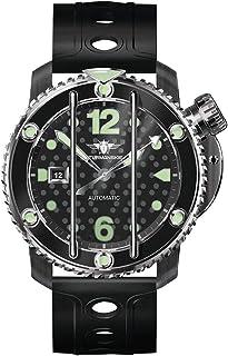 STRUMANSKIE(シュトルマンスキー) OCEAN STINGRAY(オーシャン スティングレイ) NH35/1824895 ブラックPVD メンズ ダイバーズ 腕時計【正規輸入品】
