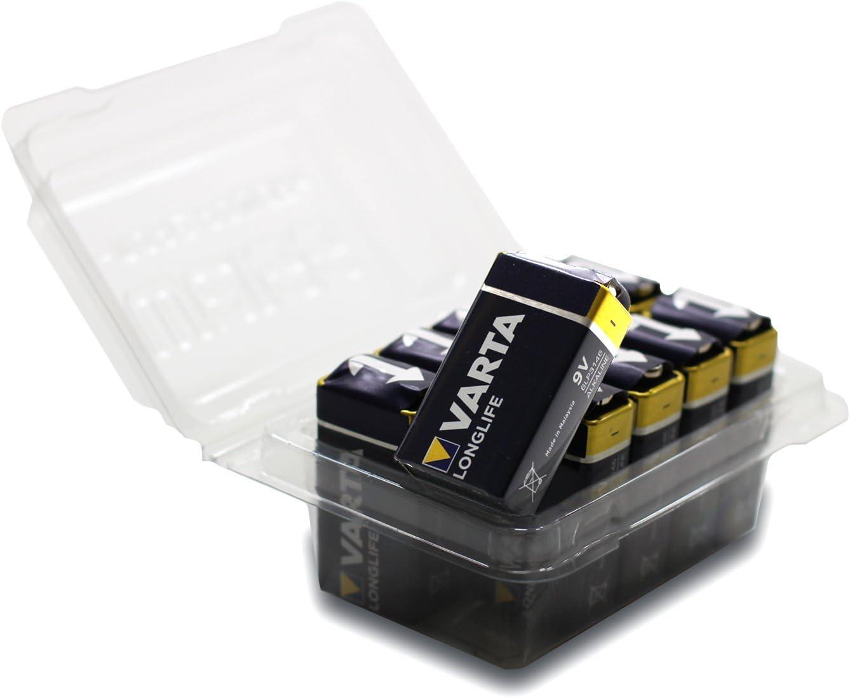 Varta Longlife 4122 9 V Block Battery 6lr61 Alkaline Computers Accessories