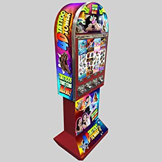 Tattoo Tower Vending Machine with Video Monitor