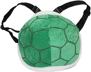 1PC Green Koopa Shell Bolsa Super Mario Tortoise Shell Peluche Mochila Super Mario Bros Disfraz de Cosplay para Niños Adulto