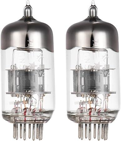 ammoon Preamp Electron Vacuum Tube 9-pin para el reemplazo del tubo del amplificador de audio 6N3P 2c51 5670 396A