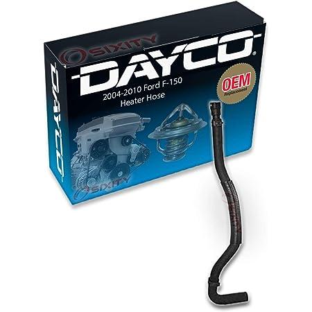 Heating HVAC Tube iw Dayco 87910 Molded Heater Hose