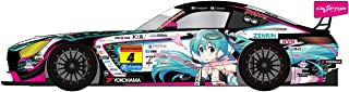 Good Smile Racing Hatsune Miku Gt Project: 1: 32ND Scale Hatsune Miku Amg 2019 Super GT Version Miniature Car