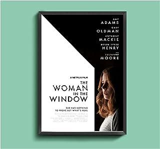 Kvinnan i fönstret Filmaffisch Hem Väggmålning Dekoration-50x70cmx1st - Ingen ram
