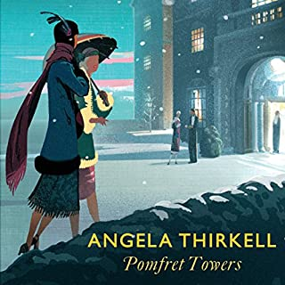 Pomfret Towers audiobook cover art