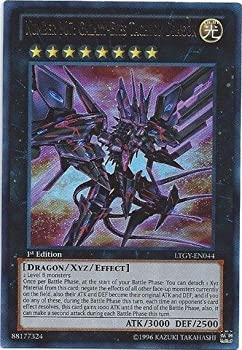 YU-GI-OH! - Number 107  Galaxy-Eyes Tachyon Dragon  LTGY-EN044  - Lord of The Tachyon Galaxy - Unlimited Edition - Ultra Rare