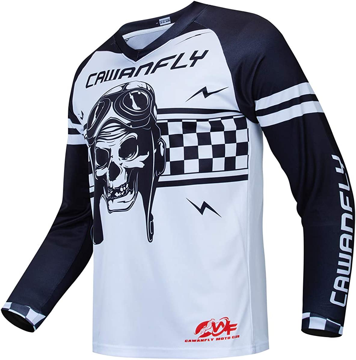 Downhill Cycling Jersey Men's Racing Jersey Long Sleeve MTB Cycling Clothing Mountain Bike Shirt