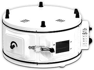 Davul Firin - Horno redondo con termostato (54 x 54 cm), color rojo Blanco