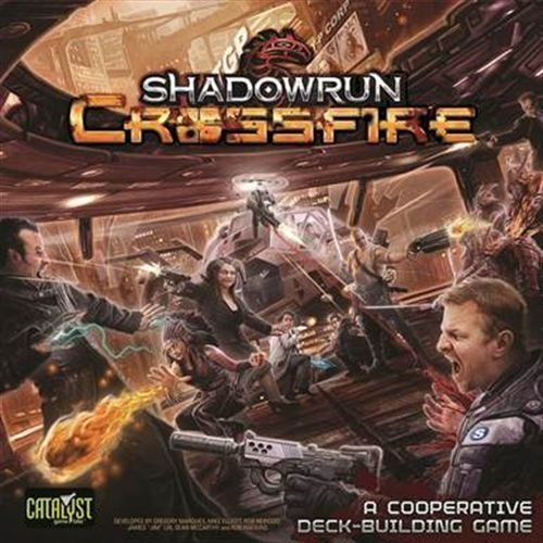 Catalyst Game Labs CAT27700 Kartenspiel Shadowrun: Crossfire Deckbuilding Game