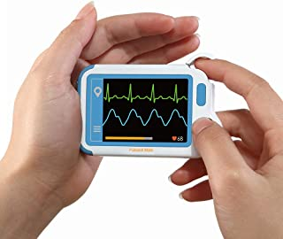 Heart Monitor, Personal Heart Health Monitor with PC Software, Portable Handheld Heart Monitoring Device for Fitness Home ...
