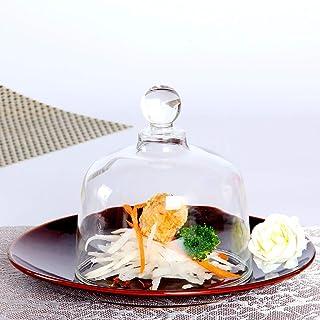 إكسسوار تدخين كلوش للمشروبات الغذائية وكوكتيلات الدخان، قبة زجاجية لمسدس المدخن للأطباق والنظارات والأوعية (الحجم: كبير)