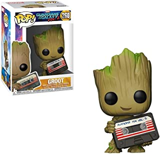 Funko Marvel Collector Corps Exclusive Guardians Of The Galaxy Vol.2-Groot with Mix Tape