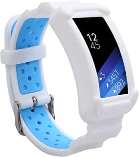 Wonlex Band for Samsung Gear Fit2 / Fit2 Pro, Silicone Replacement Watch Bands Strap Compatible with Galaxy Gear Fit2 -R36...