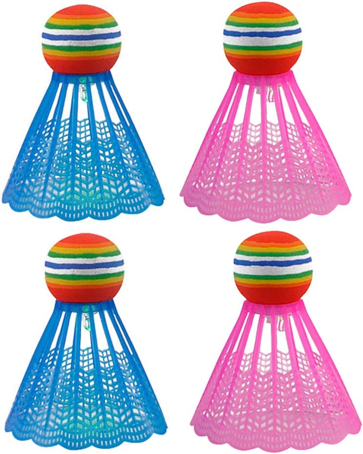 At the price of surprise BESPORTBLE 4pcs LED Badminton Shut Shuttlecocks Birdies Lighting Nashville-Davidson Mall