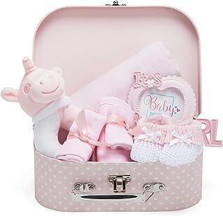 primera pelos y tamp/ón dientes de leche Brubaker Baby Set de regalo con fotos y almacenamiento para nacimiento