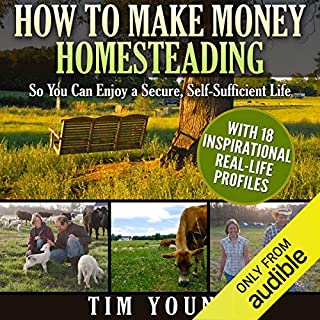 How to Make Money Homesteading audiobook cover art