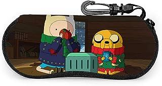 Étui à lunettes Adventure Time Étuis à lunettes Lunettes de soleil de voyage portables Sac souple, boîte à lunettes ultra ...