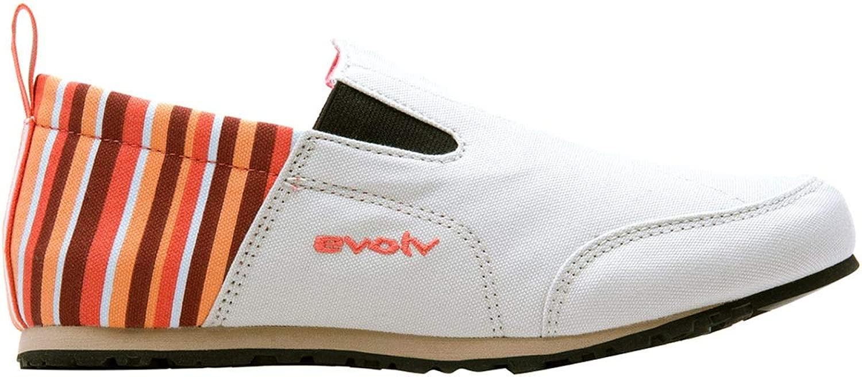 Evolv Cruzer Slip-on Approach sautope - Wouomo Birch Stripe 6