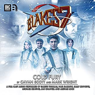 Blake's 7 - 1.5 Cold Fury cover art