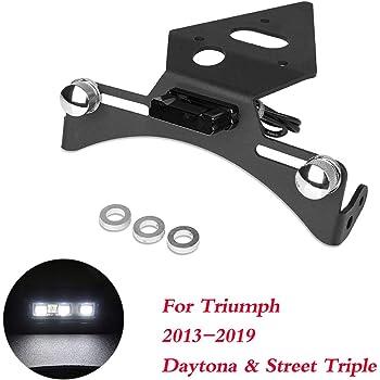 Noir DaysAgo Support la t/éRal de Plaque de Support de B/éQuille de Moto /éLargissant la Base pour Goldwing 1800 Gl1800 2010-2018 Accessoires de Moto
