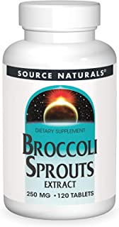 Source Naturals Broccoli Sprouts Extract 250 mg Sulforaphane - 120 Tablets