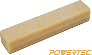 POWERTEC 71002 Abrasive Cleaning Stick for Sanding Belts & Discs Natural Rubber Build | For Woodworking Shop Sanding Perfection | A