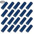 3D Printer Motherboard Accessories 20 Pcs Compression Springs Light Load 0.31 in OD 0.78 in Length for Creality CR-10 10S S4 Ender 3 Heatbed Springs Bottom Connect Leveling, Blue