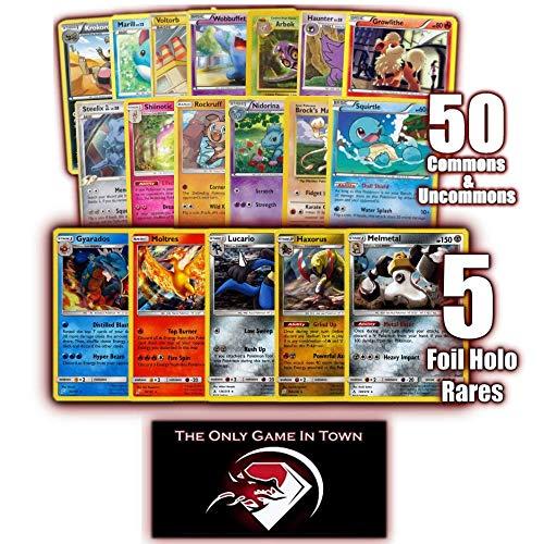 1000 Pokemon Cards 100 Energy 5 Foils Pokemon Ultra Premium Card Lot 5 Rares Includes Golden Groundhog Treasure Chest Storage Box!