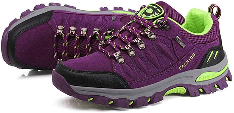 GIY Women's Outdoor Waterproof Hiking shoes Running Trail Hiker Anti-Slip Casual Climbing Backpacking shoes