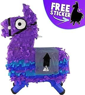Aurabeam Loot Llama Party Pinata (Purple Loot Llama Piñata) Hand made in Mexico