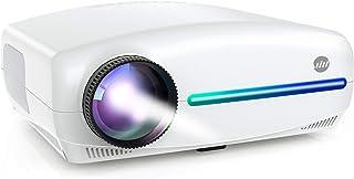 "VIVIMAGE Explore 3 Native 1080P Projector, FHD 7500L Movies Projector 300"" for Home Theatre 60Hz Compatible TV Stick, 2 HD..."
