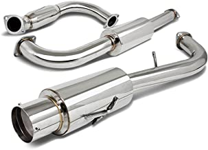 For Mitsubishi Eclipse GST Turbo 4.5 inches Muffler Tip Catback Exhaust System