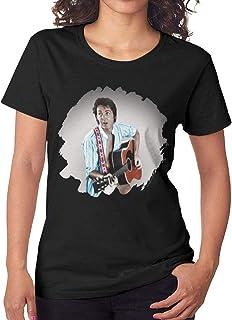Anakalenina Womens Paul McCartney Tug of War 3//4 Sleeve Raglan Baseball T Shirts Black